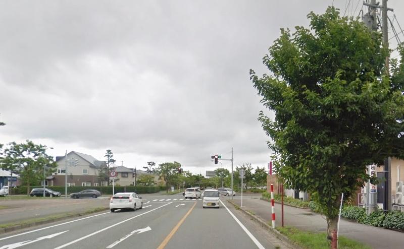 県道61号と41号が交わる交差点まで進むとゴール目前です。