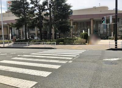 2つ目に見える右手の横断歩道