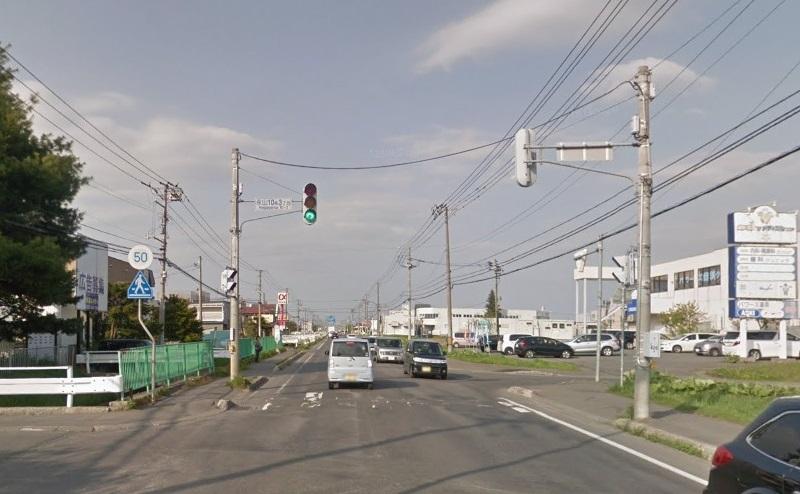 南永山駅をでて左方向へ350m直進
