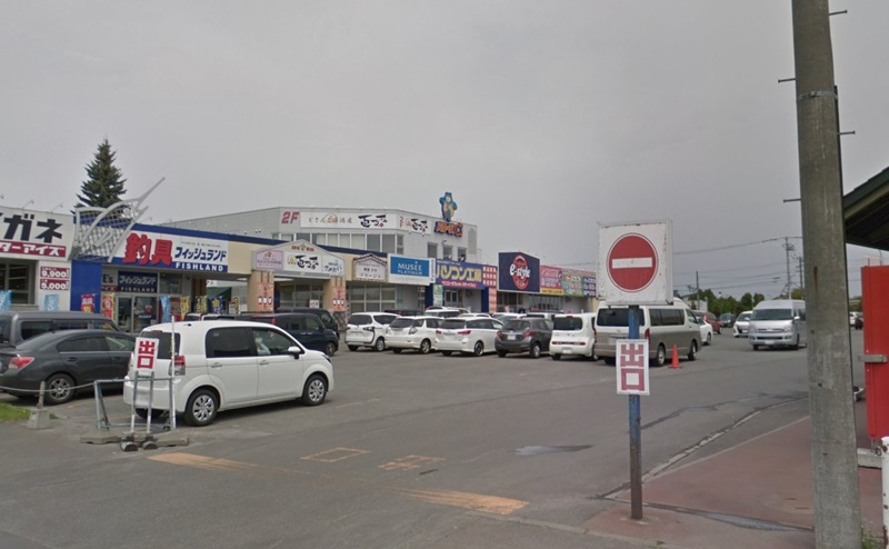 ミュゼ旭川パワーズ店の入り口