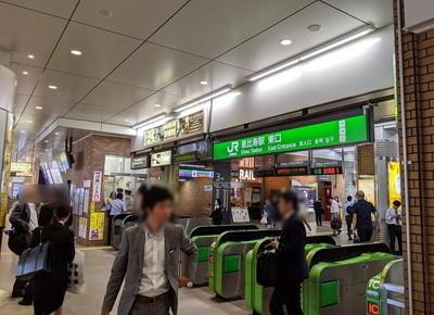 恵比寿駅東口改札