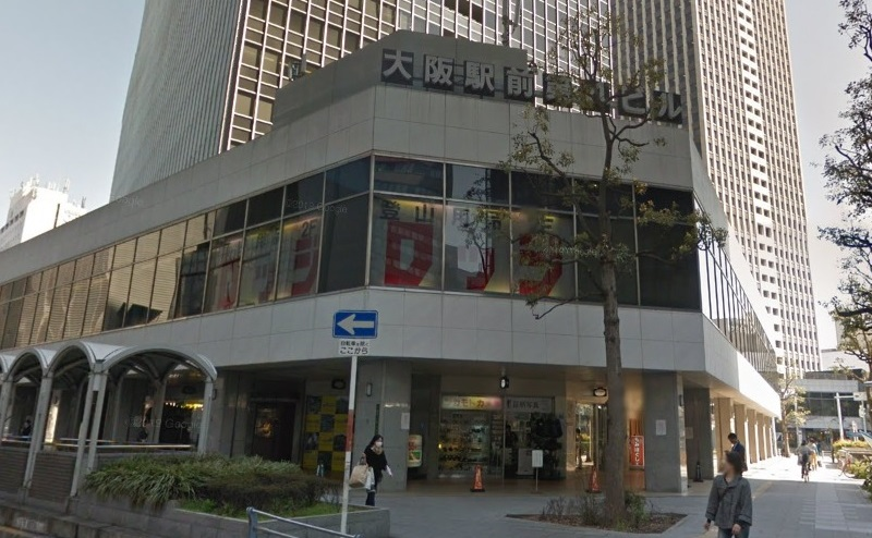 ミュゼ大阪駅前第4ビル店の行き方