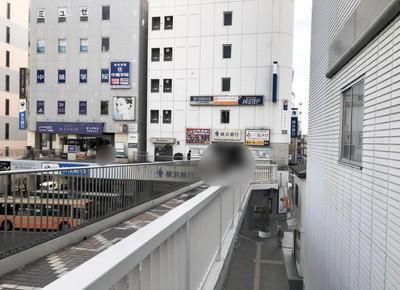 横浜銀行へ向かって約40m直進
