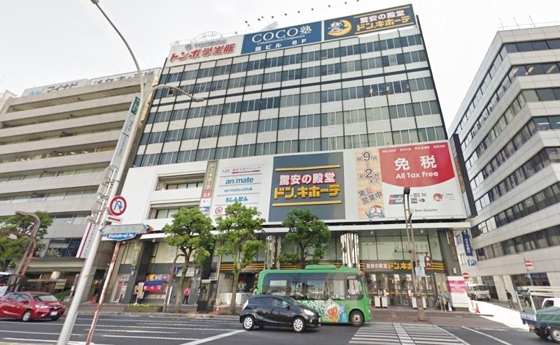 ミュゼ岡山駅前店(旧:岡山ビブレ店)の行き方