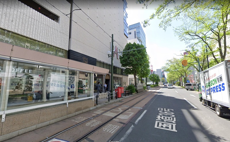 ポールタウンからミュゼ札幌パルコ店の行き方