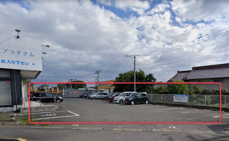 ミュゼグラン仙台長町インター店の駐車場