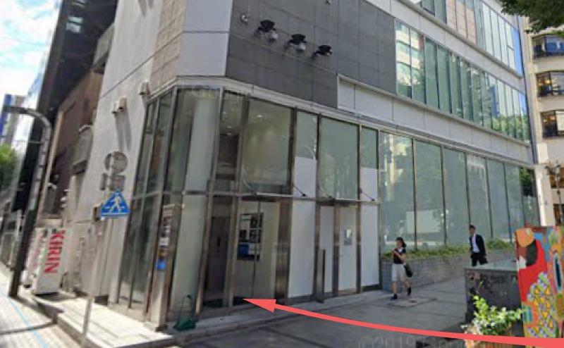 MLJ新宿ビルの入り口