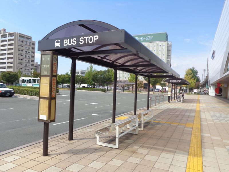 防長バス「防府駅前バス停」