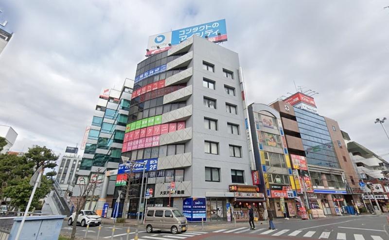 銀座カラー川越駅前店の行き方
