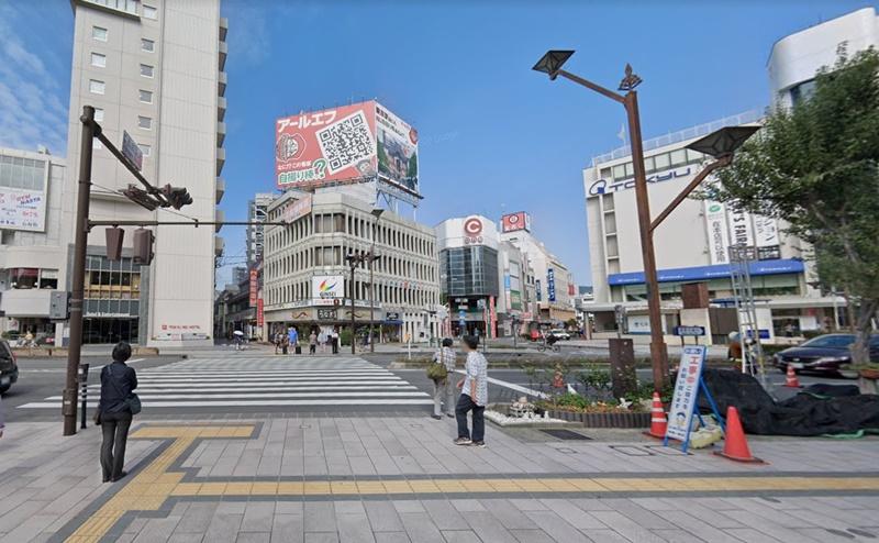 長野大通りまで進みます。