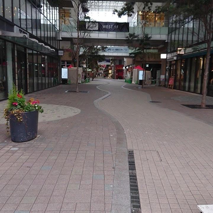 丸亀グリーンという大きい商店街