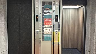 ※2機横並びになっているエレベーターでしか10階には上がれませんのでご注意ください。