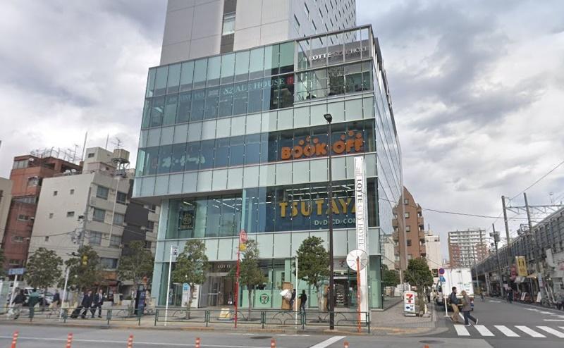 TBC LOTTE CITY錦糸町店の行き方