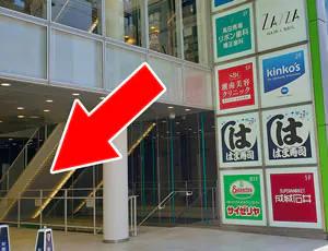 1階に成城石井が入っているビルの5階でございます。