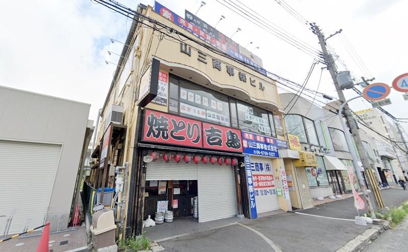 ディオーネ東大阪八戸ノ里駅前店の行き方