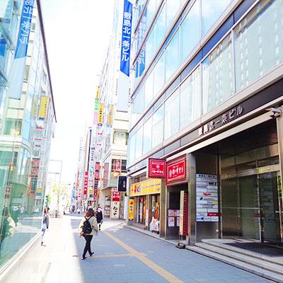 地上に上がったら札幌駅方面に歩きます。