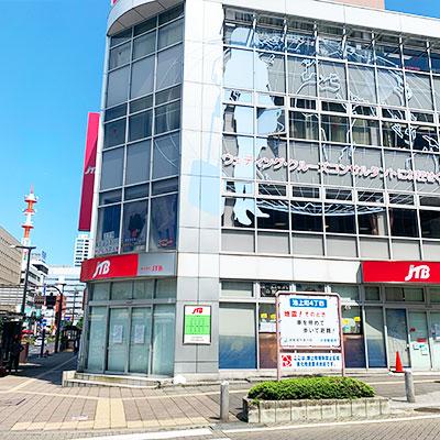 JTBさんのビルを右折してJR宇都宮駅方面へ進みます。