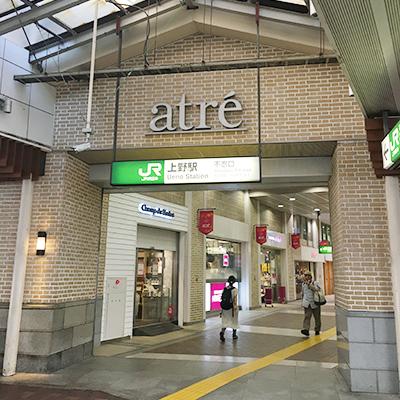 JR上野駅不忍口を出て、アメヤ横丁方面へ向かいます。