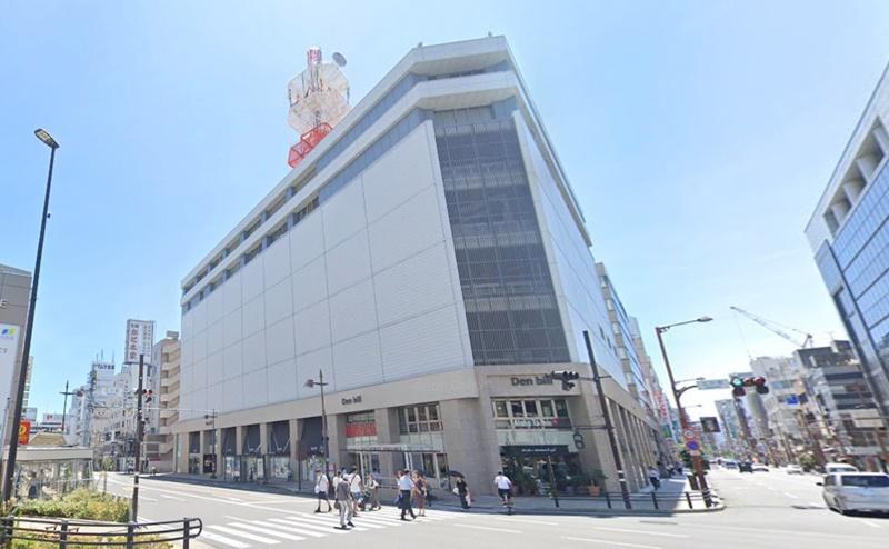 キレイモ静岡Denbill店(旧 静岡店)の行き方