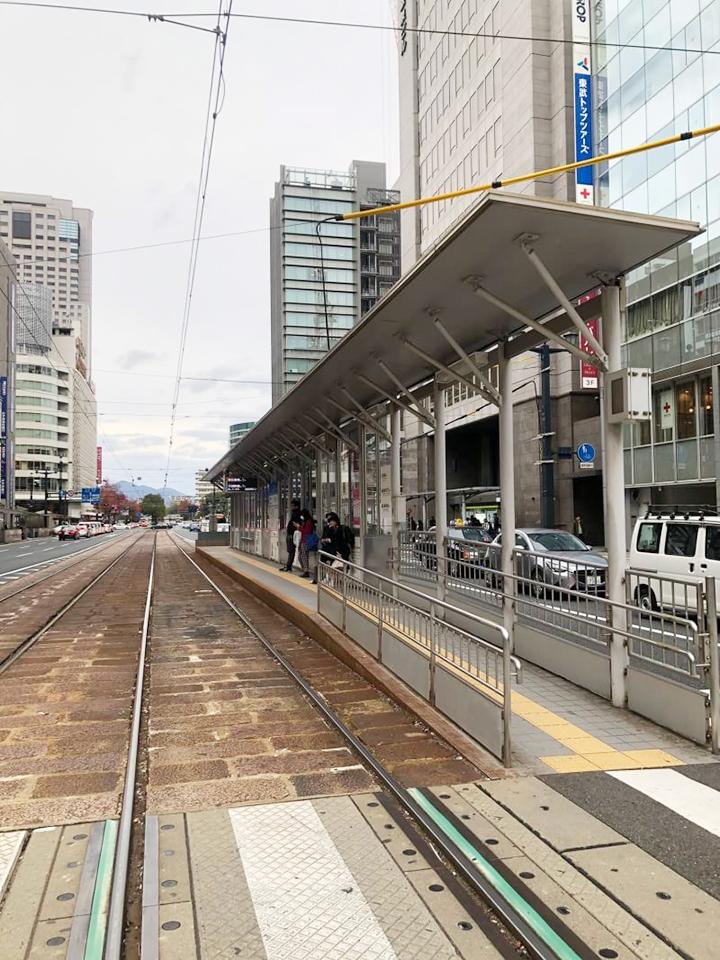 広島電鉄 本通り駅で降ります。