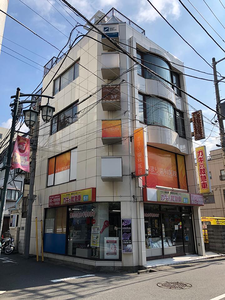つきあたりの左手にある伊藤ビル3階です