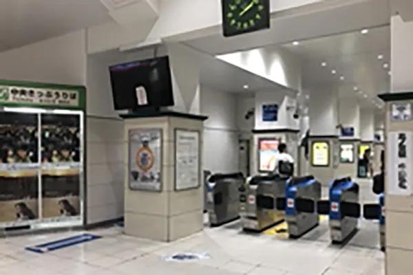 JR三ノ宮駅 中央改札から出てください。