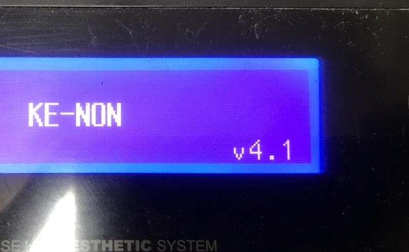 旧型ケノンのバージョン4.1