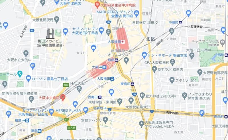 梅田エリアの脱毛クリニックおすすめ6選