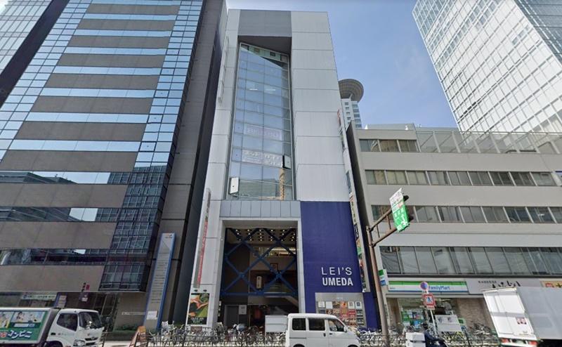 TCB梅田大阪駅前院の行き方